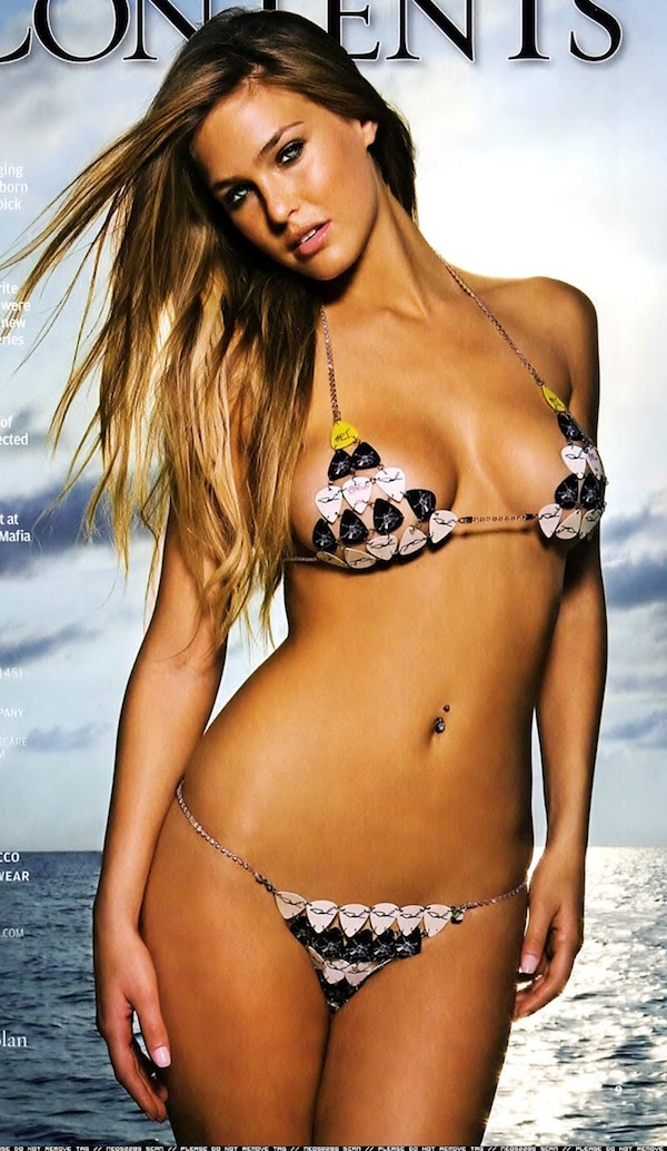 Bermudo bar refaeli pics bikini dark skinned