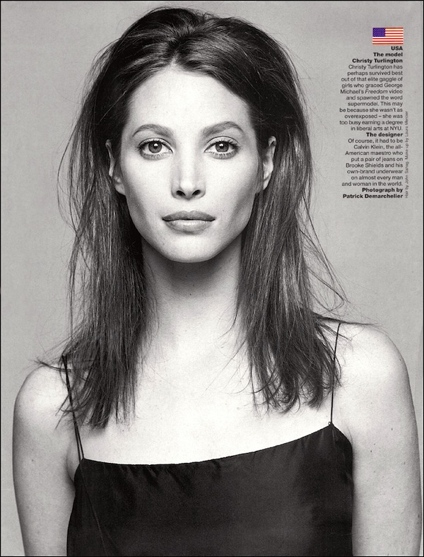 christy turlington фото
